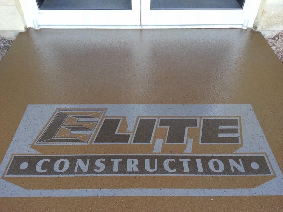 Commercial Elite Construction Logo