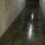 Commerical large tile stain