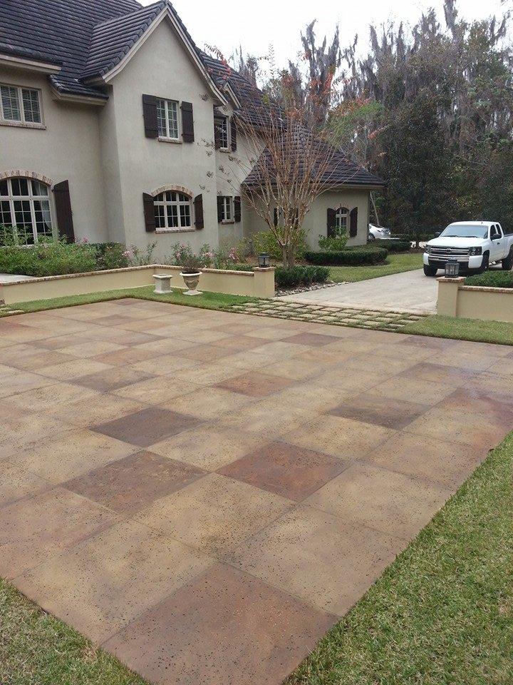 Large Tile Courtyard