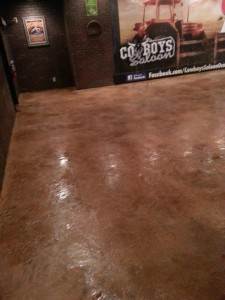 commerical stained floors