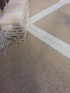 large Tile close up