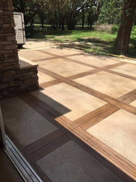 Home Modern Edge Decorative Concrete
